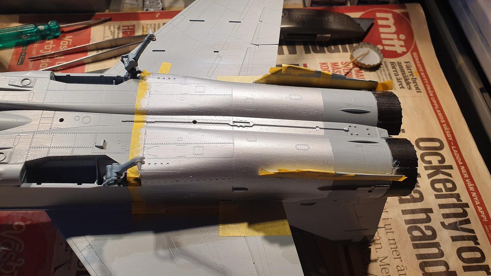 MiG-25BM Iraqi Air Force 1988 - ICM/Revell 1/48 + extra - Färdig! - Sida 7 48901683251_83351210f1_h