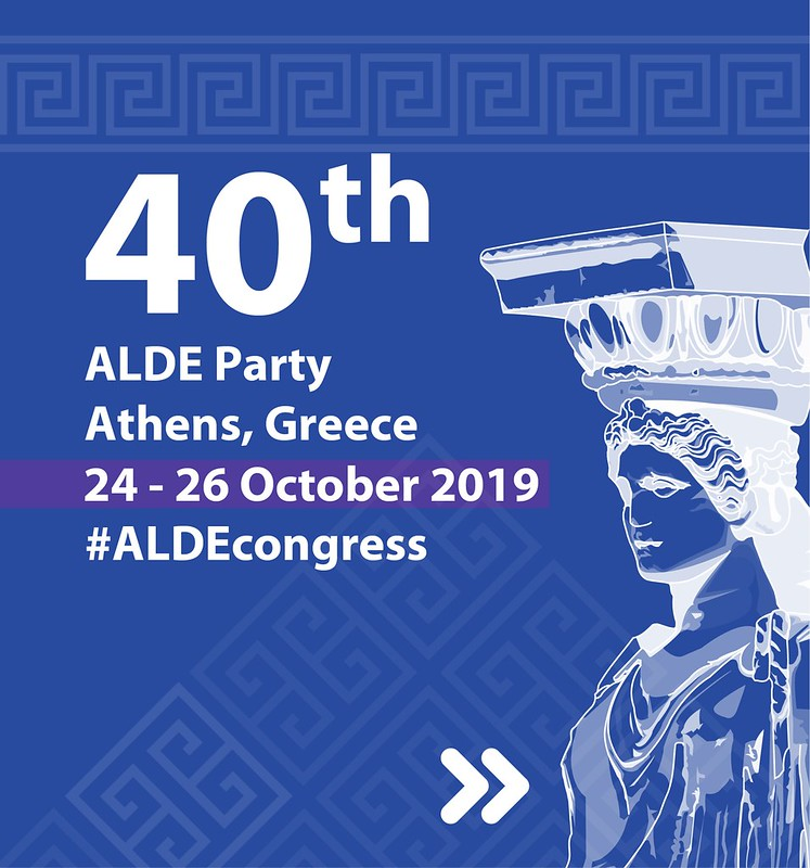 ALDE Party Congress in Athens, 24-26 October 2019