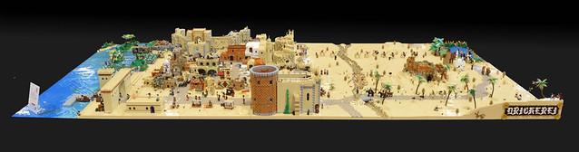 LEGO Medieval Levant Holy Land Eastern Mediterranean