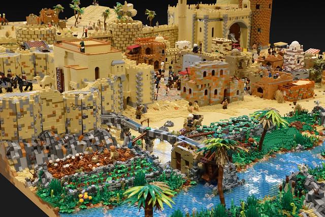 LEGO Medieval Levant Holy Land Eastern Mediterranean Collaboration)