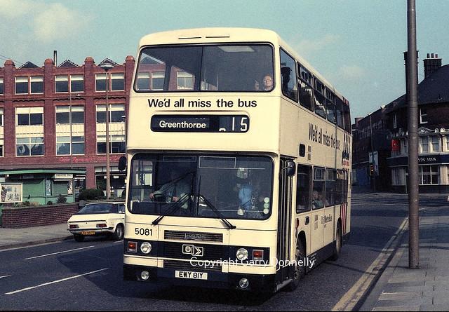 West Yorkshire PTE 5081 EWY 81Y