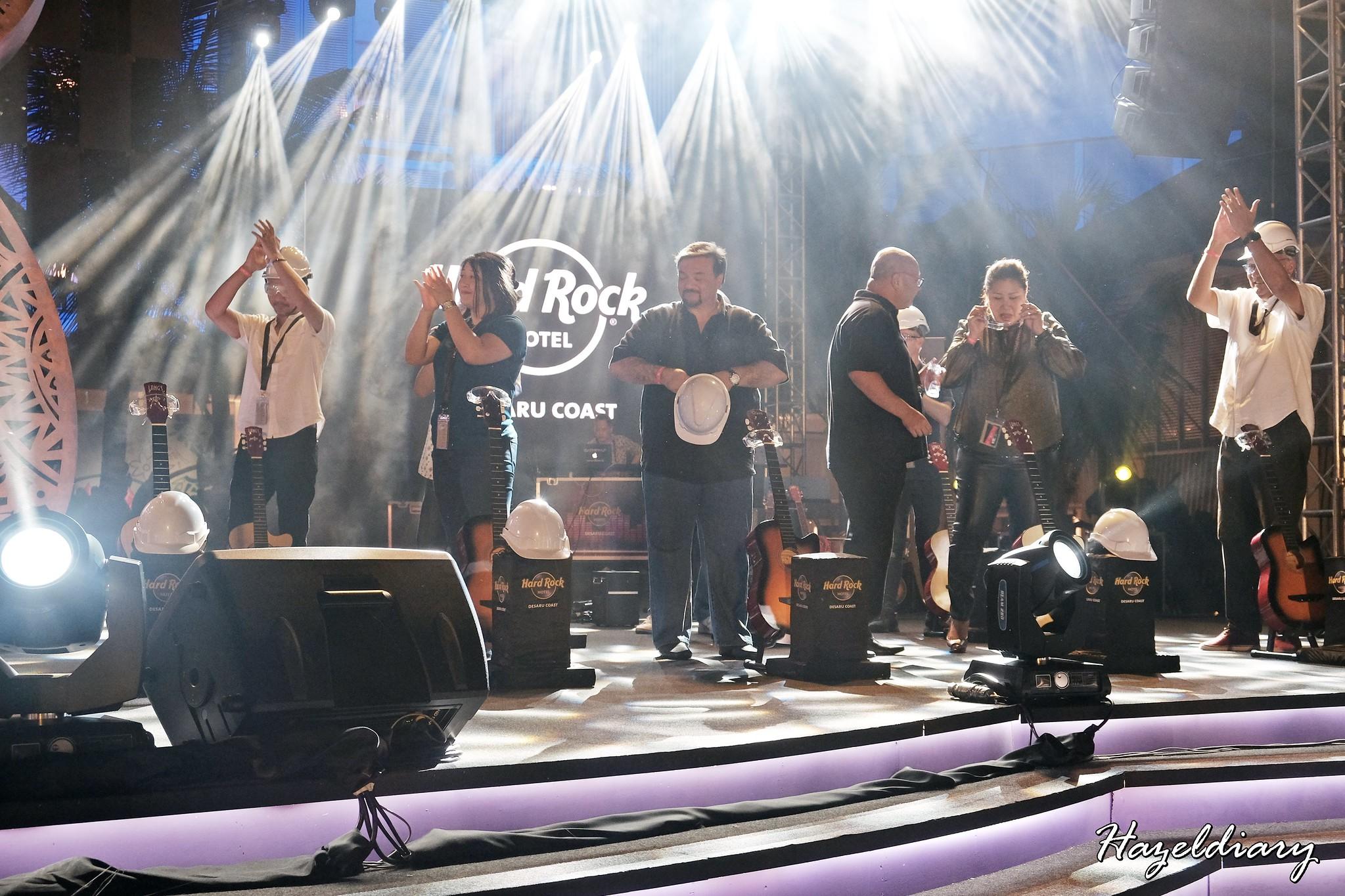 Hard Rock Hotel Desaru Coast-Guitar Smashing Ceremony