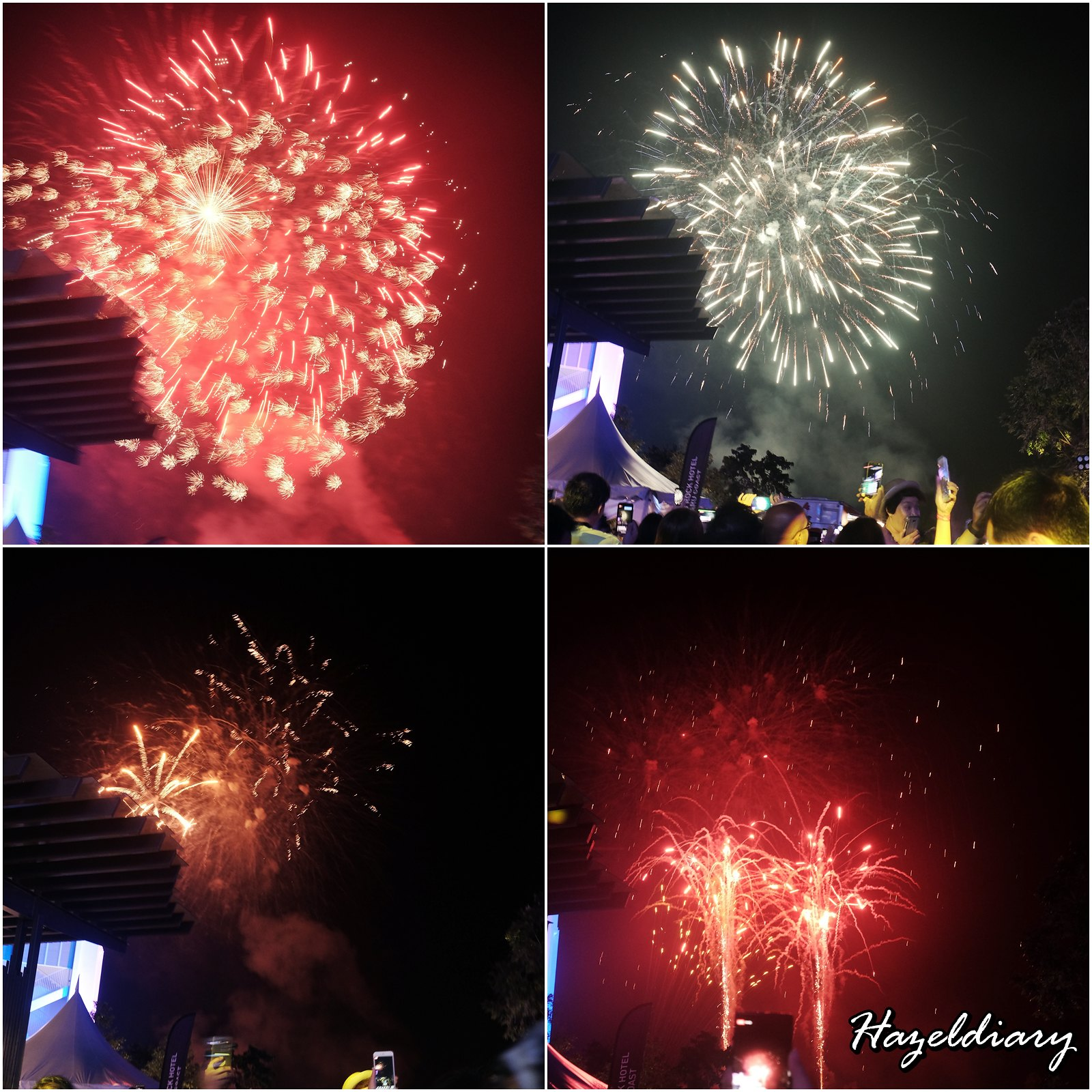 Hard Rock Hotel Desaru Coast-Fireworks