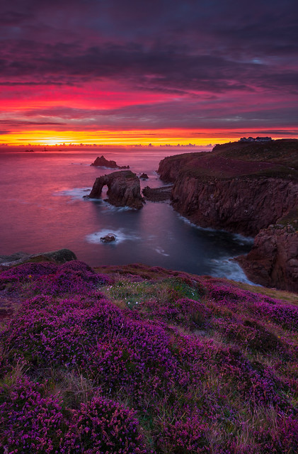 Days end at Land's End