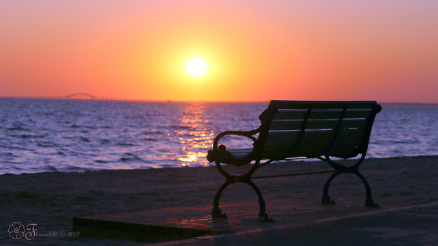 A Seat To Enjoy The Sunset