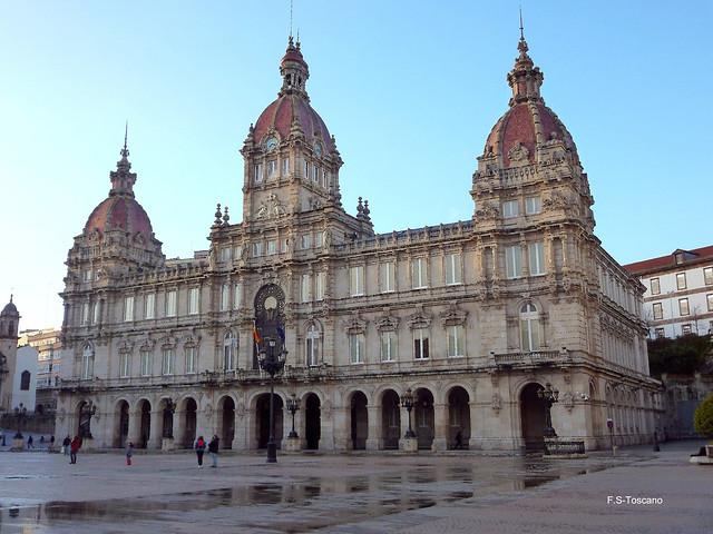 Pacio do Concello. Town Hall. A Coruña.