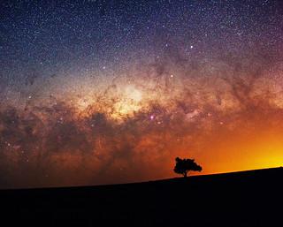 Milky Way at Quairading, Western Australia