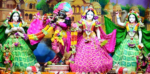 ISKCON Nasik Deity Darshan 15 Oct 2019