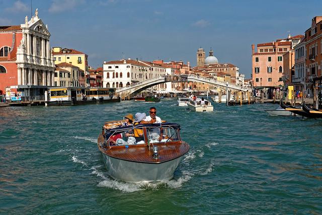 Venice / Grand Canal / Boat ride