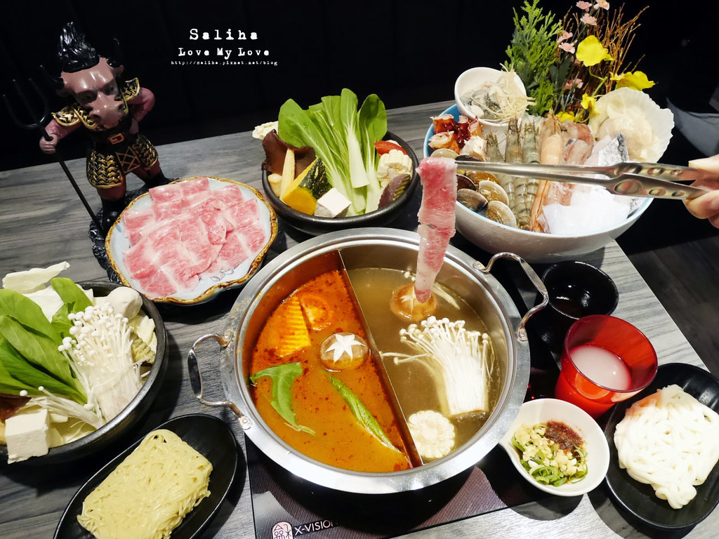 台北大直內湖火鍋餐廳推薦闊佬shabu shabu劍南路站美麗華附近 (2)