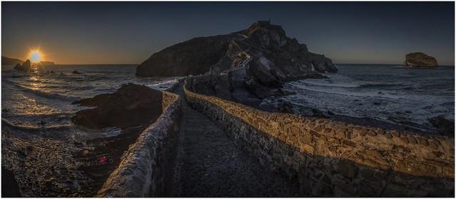 Pano San Juan de Gaztelugatxe