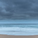 Rain Clouds at Copacabana - Overcast Sunrise Seascape