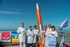 Gipfeltreffen der besonderen Art: Protest auf dem Wendelstein gegen Atomwaffen
