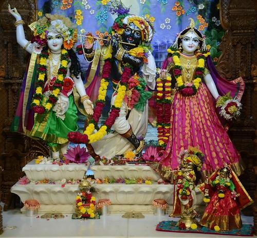ISKCON GEV Wada Deity Darshan 15 Oct 2019