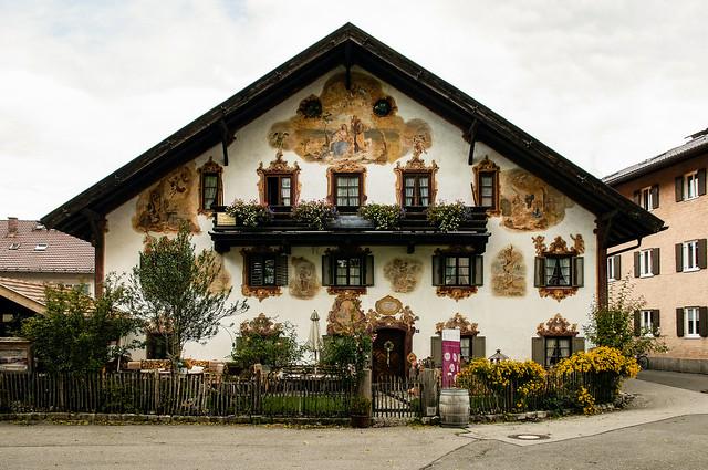 Case decorate a Oberammergau