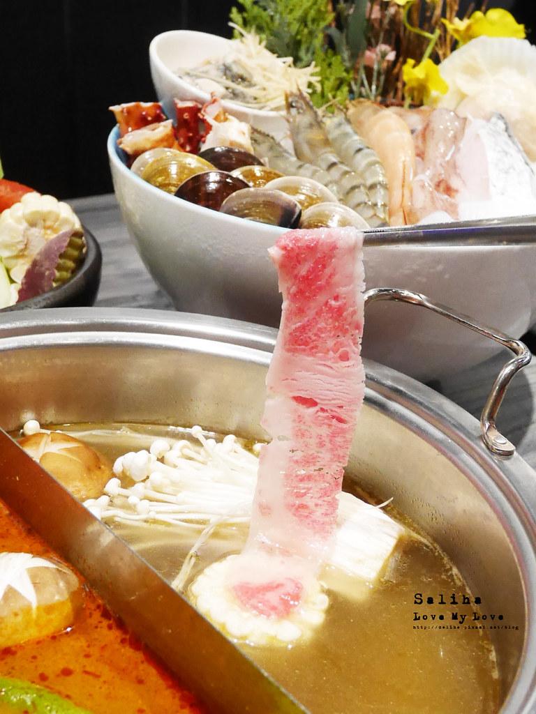 台北大直內湖火鍋餐廳推薦闊佬shabu shabu劍南路站美麗華附近 (1)