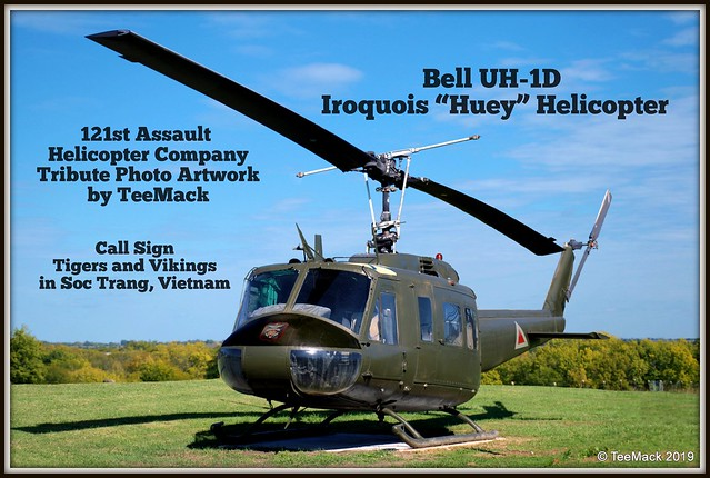 "Bell UH-1D Iroquois ""Huey"" Helicopter"
