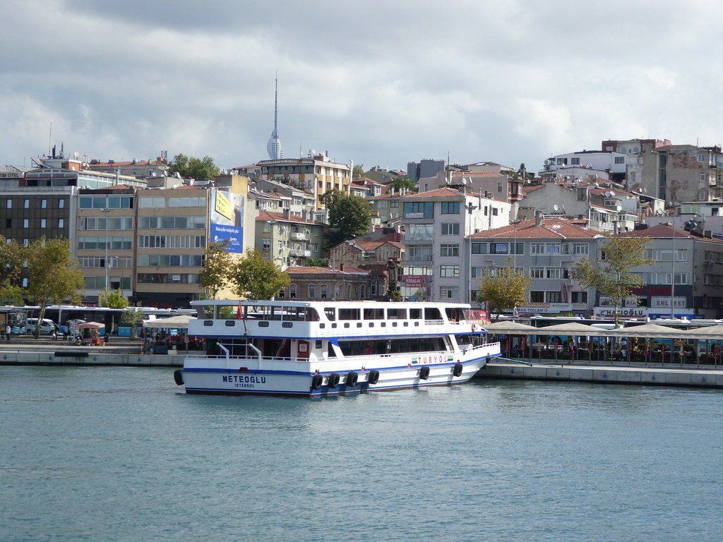 Approaching Kadikoy,  the Asian part of Istanbul