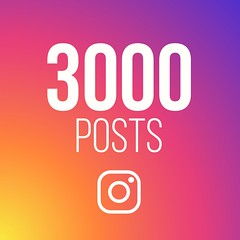 3000 Instagram posts!