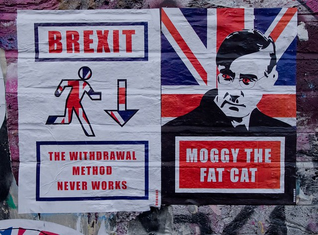 Subdude Brexit Withdrawal Method & Jacob Rees-Mogg Moggy The Fat Cat