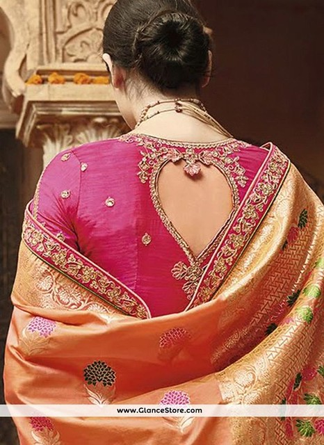 Most Trending Blouse Designs For Silk Sarees!
