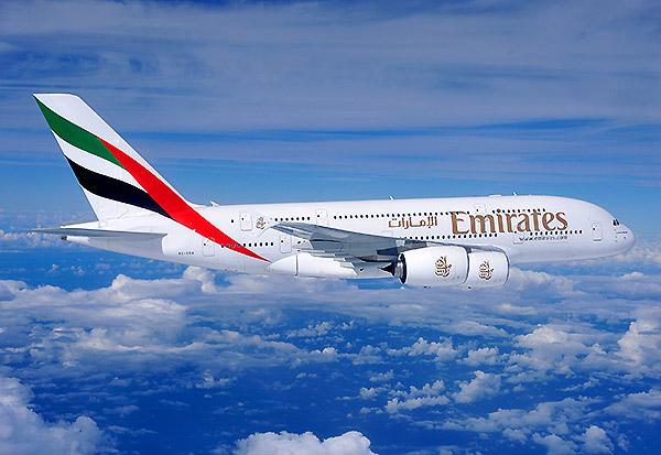 Emirates A380 en vuelo (Airbus)