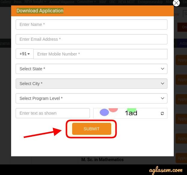 REVA MAT Offline Registration
