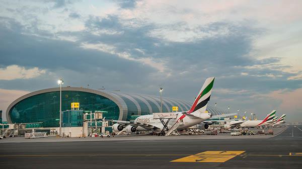 Emirates A380 Terminal 3 DXB (Emirates)