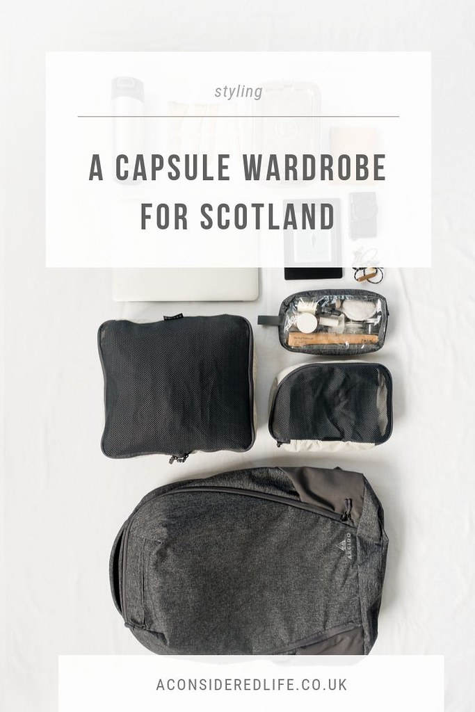 A Packing List For A Long Weekend In Scotland