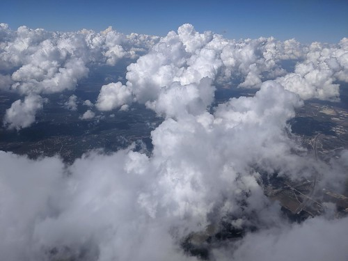 texas clouds airplane airtravel