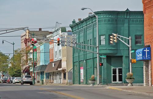 unioncityindiana smalltownamerica midwest downtown buildings oldbuildings