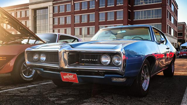 Pontiac LeMans at Cars and Coffee, Austin Landing