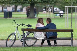 Couple in King's Garden, Copenhagen