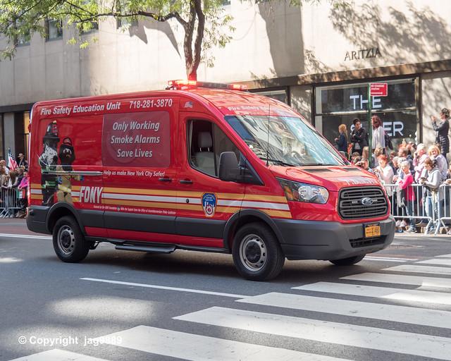 2019 Columbus Day Parade, Midtown Manhattan, New York City