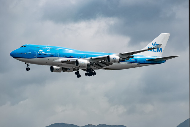 KLM - Boeing 747-406(M) / PH-BFV @ Hong Kong