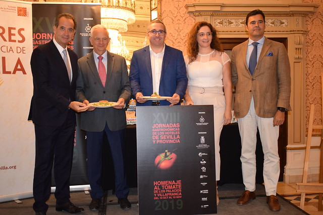 Presentación XVIII Jornadas Gastronómicas de los hoteles de Sevilla y Provincia (fotos archivo)