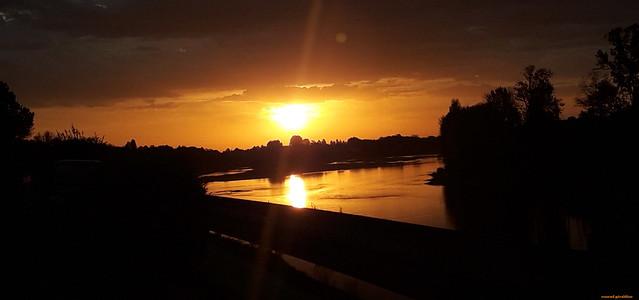 Début de journée sur la Loire