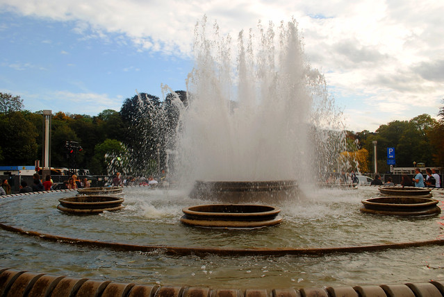 Fountain at Place Louis Steens