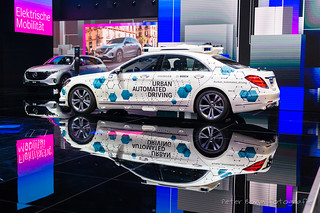 Mercedes S-Class Urban Automated Driving Concept - 2018