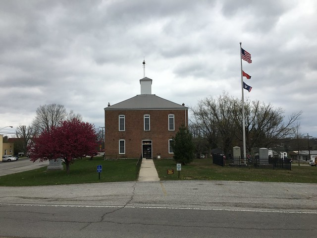 Van Buren County Courthouse, April 3,2018