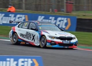 2019 BTCC Champion Colin Turkington BMW 330i M Last Round Brands Hatch