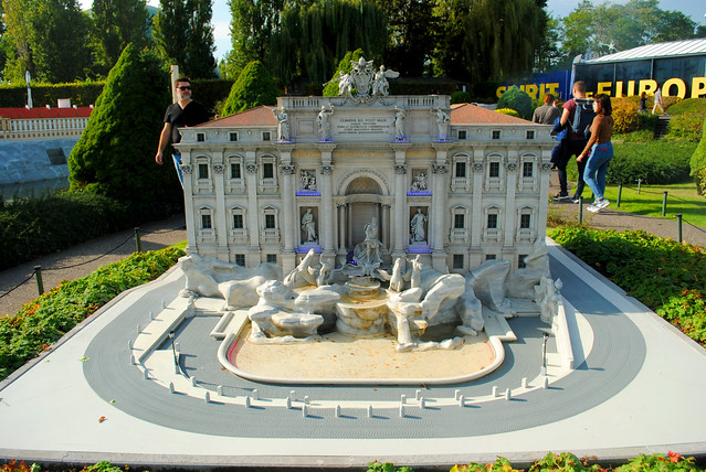 Mini-Europe - Italy - Trevi Fountain