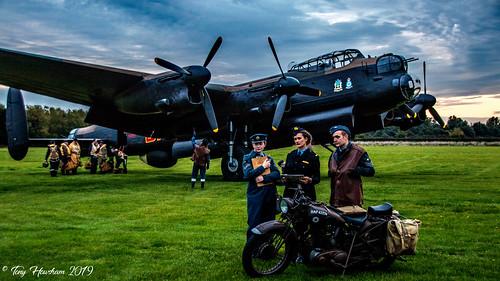 Lancaster Airfield Scene