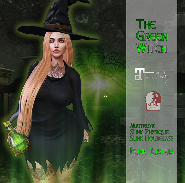 the green witch by Punk JUSTUS