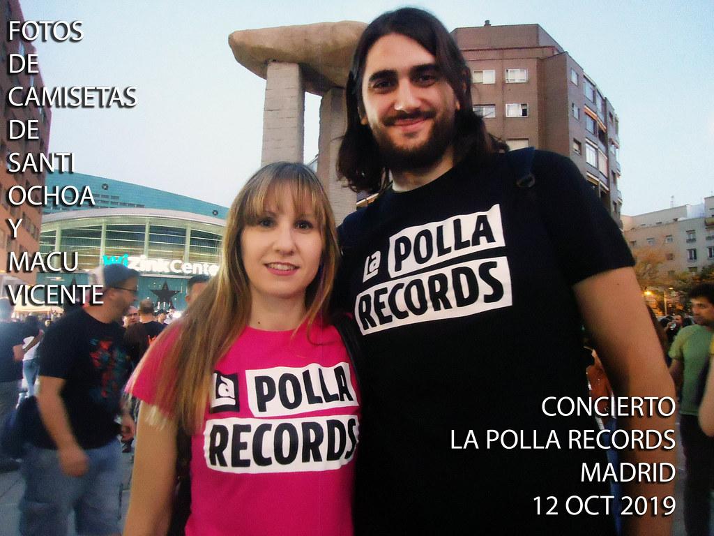 Concierto LA POLLA. 12 oct 2019