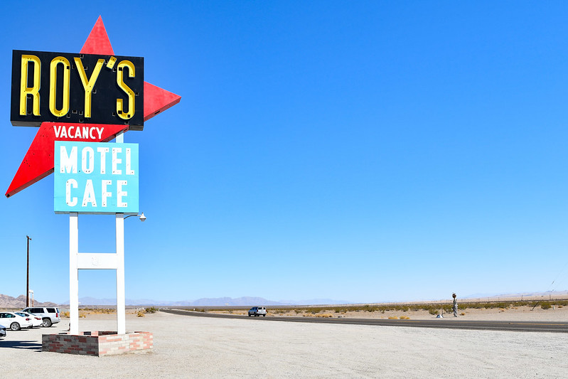 Roys Cafe on route 66