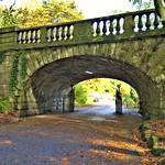 Bridge through to Avenham Park, Preston