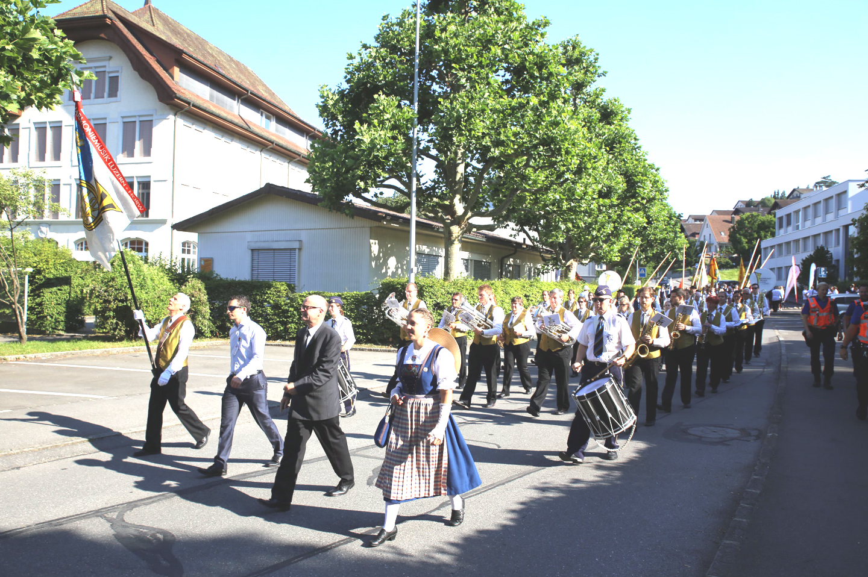 63. zentralschweizerischens Jodelfest in Horw