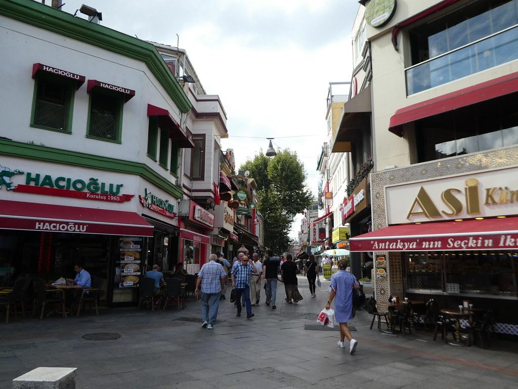 Exploring the narrow streets of Kadikoy