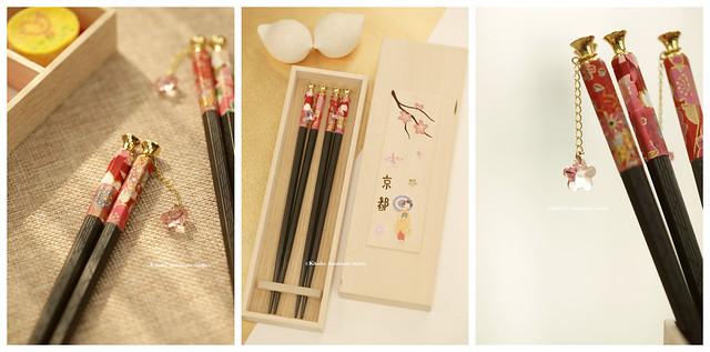 Swarovski crystals Sakura Charms,Handmade Japanese Chopsticks, wooden box Personalised Engraved Chopsticks, Party Gifts/Wedding Favours,Wedding Gift, birthday gift, holiday gift and japanese packaging ideas